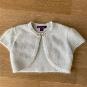 Ralph Lauren Collection Angora Shrug, Size L